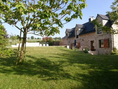 Photo for Beautiful villa with private heated pool, wonderful gardens and rural views