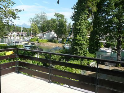Photo for House with private pontoon and berth marina Port Ripaille 6 persons