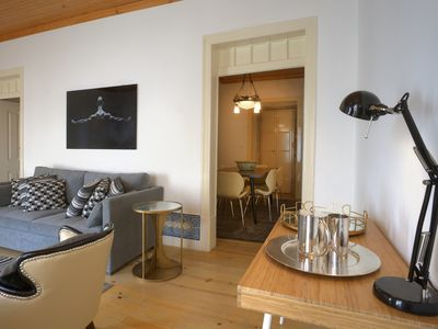 Photo for PORTAS DO TEATRO TWO BEDROOM APARTMENT CITY AND RIVER VIEW