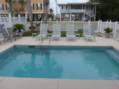 Photo for GREAT HOUSE & LOCATION - Oceanview from Master Balcony/Walk to the Beach