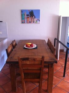 Photo for Spacious 2 bedroom air conditioned 500 M. to Beach/Hastings Street