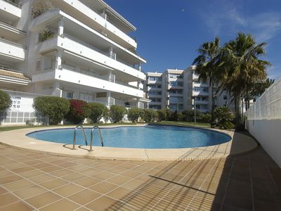 Photo for Playa de Cap Negret: Luxury apartment with direct access to the beach