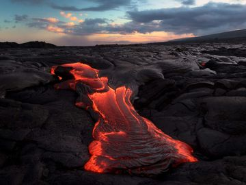 """""""House of Honor"""" It's an honor to experience a active volcano."""