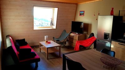 Photo for LE LIORAN T3 3 *, at the foot of the slopes, Chalet spirit, Naturally Cantal