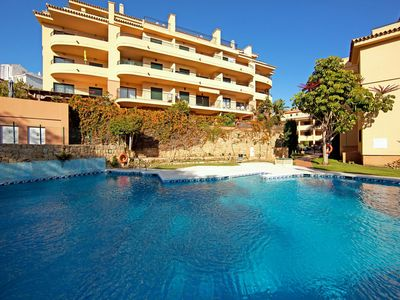 Photo for Two bedroom apartment with sea views Mijas Costa