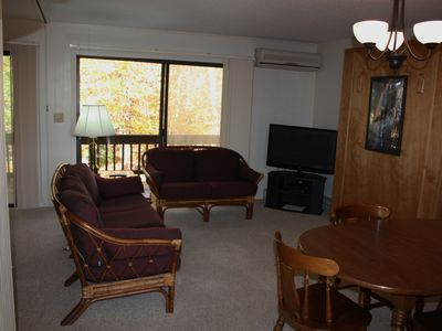 Photo for Beech Mountain Condo Sleeps 5; Walk To Ski Beech