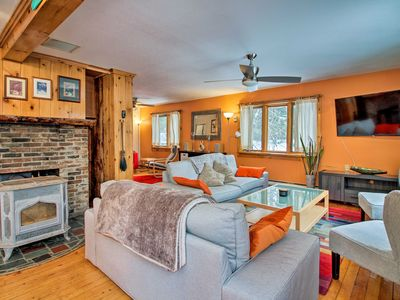 Photo for NEW! Vermont Getaway w/ Deck - 6 Miles to Mt Snow!
