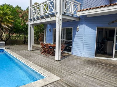 Photo for Vacation home Haut du Baganais in Lacanau - 7 persons, 3 bedrooms