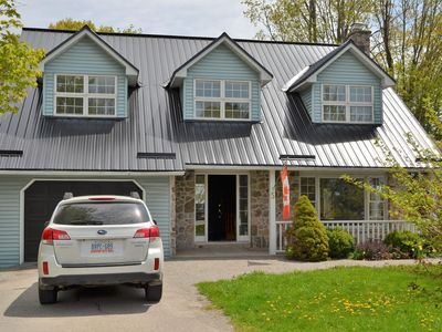 Photo for A spacious lakeview home is available in picturesque Westport, Ontario.