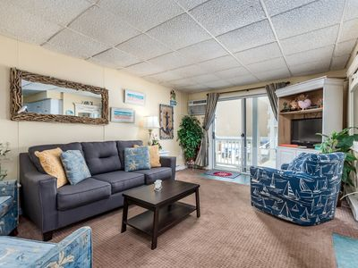 Photo for Oceanfront (Side) w/ Private Close to Convention Center & Boardwalk!