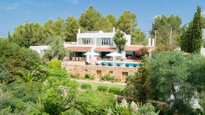 Photo for Beautifull villa central Ibiza, with stunning views to the old town of Ibiza