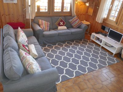 Photo for Vacation home Les Muguets in Nendaz - 6 persons, 3 bedrooms