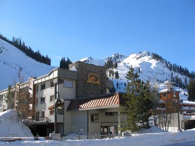 Photo for Ski-in/out Lake Tahoe vacation rental next the alpine village of Squaw Valley