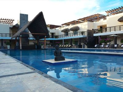 """Photo for Aldea Thai condo directly on Mamitas Beach """"Summer special rate"""""""