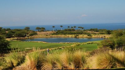 The ocean and golf course view from our lanai is the best in all of Kumulani