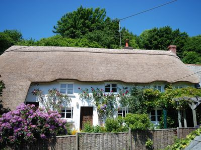 Traditional thatched cottage
