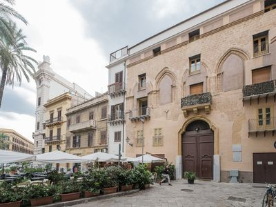 Photo for charming apartment in the historical palace Palazzo Ponza.Bright and quite house