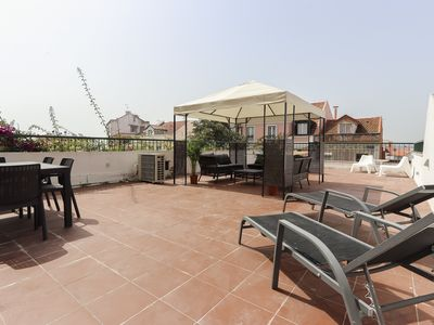 Photo for Apartment with amazing terrace and garage included