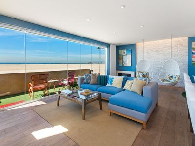 Photo for Modern, Immaculate,Oceanfront Condo on Sand; Central Location!