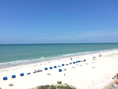 Photo for ~**Perfect Location on Indian Shores**~ Sand Castle I #708 Beachfront Condo