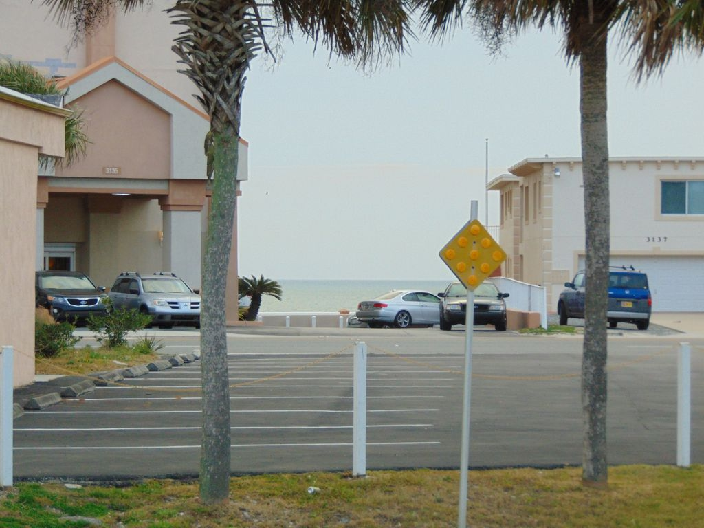 View of the ocean from the front lawn Avail Biketoberfest  3 Bedroom 2 Bath home     VRBO. 3 Bedroom 2 Bath House. Home Design Ideas
