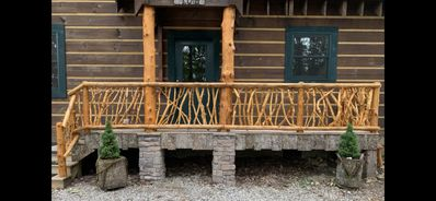 Photo for Perfect Cabin Retreat ! Forest and Mountain Views and Beech Mtn Club Privileges