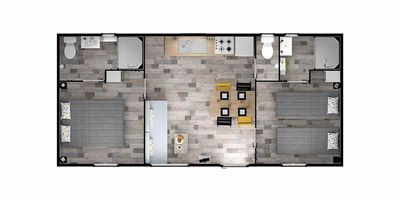 Photo for Camping L'Océan ***** - Mobil Home Duo Premium Plus 3 Rooms 4 People