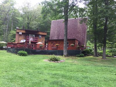 Photo for A beautiful 4 bedroom Chalet in Historic Coker Creek , Tn.