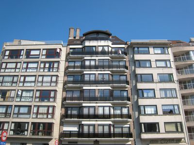 Photo for Attractive apartment with balcony 100m from the sea in Knokke-Heist