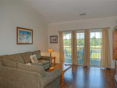 Photo for Hardwood Flooring! GREAT location directly next to the pool! GREAT view of the lake!
