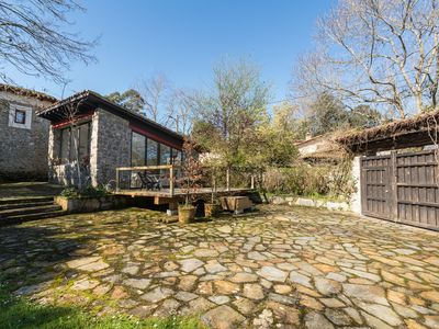 Photo for Stone house located in the charming village of Lledias