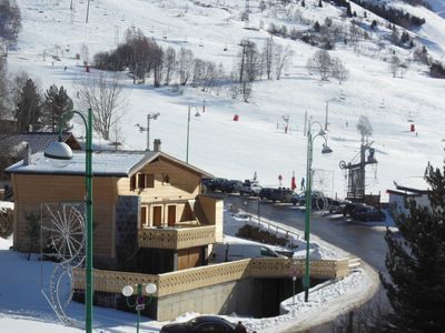 Photo for Chalet Le Sreina, for 14. Foot of the slopes and downtown of Deux Alpes