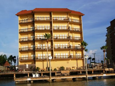 Photo for Galleon Bay bayfront, boat slips, pool,  SPRING BREAKERS WELCOME 21+ TO RESERVE