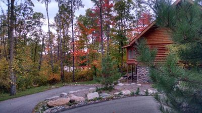 Photo for Tranquil Log Home close to Itasca State Park