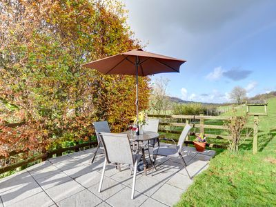Photo for Near Llanrwst on a working farm on the moors of Hiraethog is Llys Pennant, a bungalow with views of