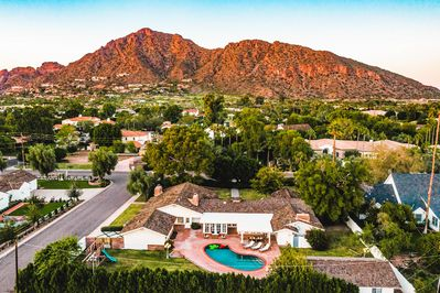Gorgeous view of Camelback Mountain, only a 5 minute drive!