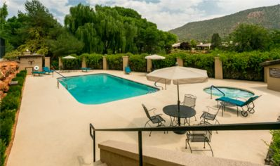 Photo for Red Rock Hide Away...golf, pool, and hot tub!