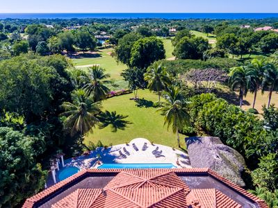 Photo for 6 bedroom 10,000 Sq.Ft, with Ocean Golf Course View, Cook & Maid