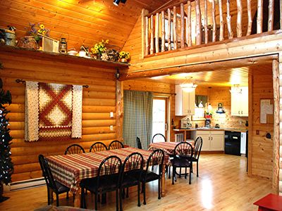 Photo for EPA approved non-toxic disinfectant used- Luxury lakeside cabin near Itasca Park