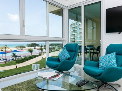 Photo for Breath-taking ocean view Condo for 6. Blue-224