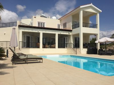 Photo for Villa With Private Pool And Stunning Sea Views And Large Landscaped Gardens