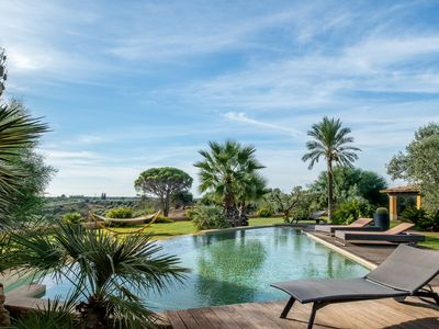 Photo for Luxury villa on an olive farm w/ private pool, garden terrace & gorgeous views!