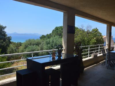 Photo for Villa house with panoramic sea view and agriate