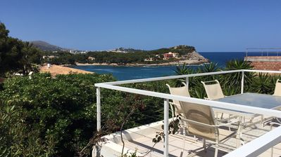 Photo for Our gem with fantastic sea and coastal views and free Wi-Fi