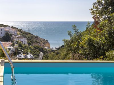 Photo for Villa Diane, Luxury Cottage, Ocean views, 2 Bedrooms, Sleeps 4, Air-con, BBQ & pool