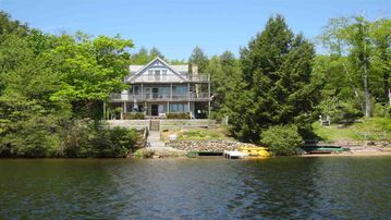 Secluded Vacation Home with direct lake frontage  on Contoocook Lake in NH