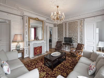 Photo for 4 sumptuous Paris apartment for 6 people in Saint-Germain