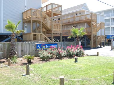 Photo for Beach Front 301: Cozy beachside condo at a smaller complex, internet, walk-up