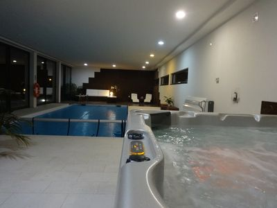 Photo for Villa with 2 swimming pools, indoor and outdoor, garden, Vila do Conde