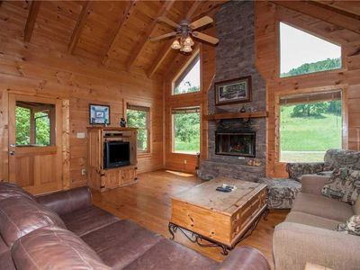 Photo for Spring View - Two Bedroom Cabin